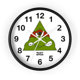 """Toons of controversy"" (Ralphy) Wall clock"