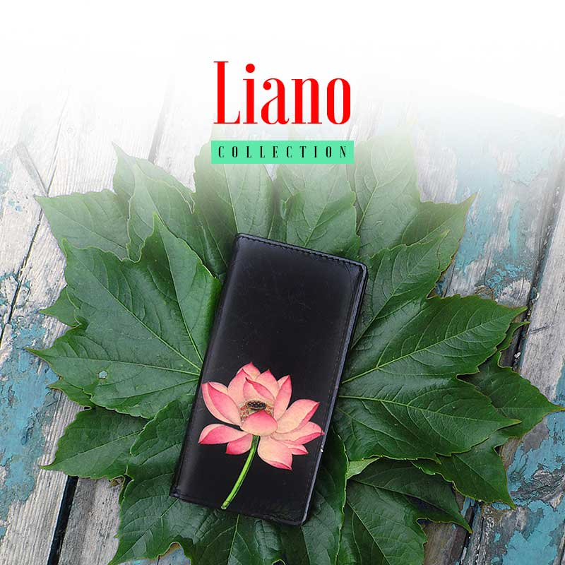 Shop online for Liano collection designed by PETA approved vegan brand LAVISHY features vegan leather wristlet wallets, large wallets, coin purses, travel accessories with vintage/retro style prints range from delightful flowers to lovely animals.