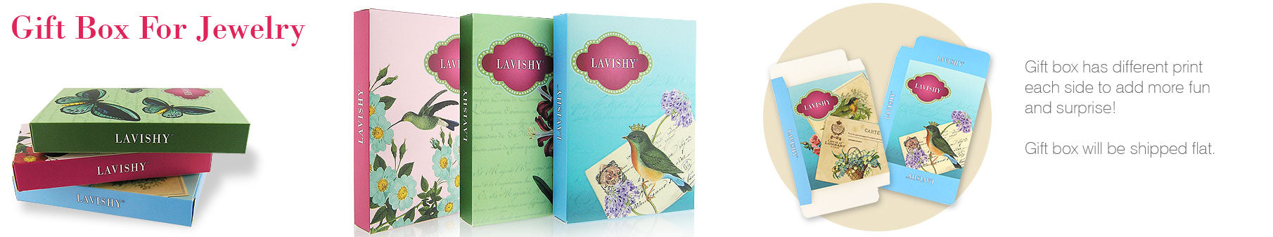 LAVISHY Boutique offers FREE Gift Packaging to make gift giving easier and more fun