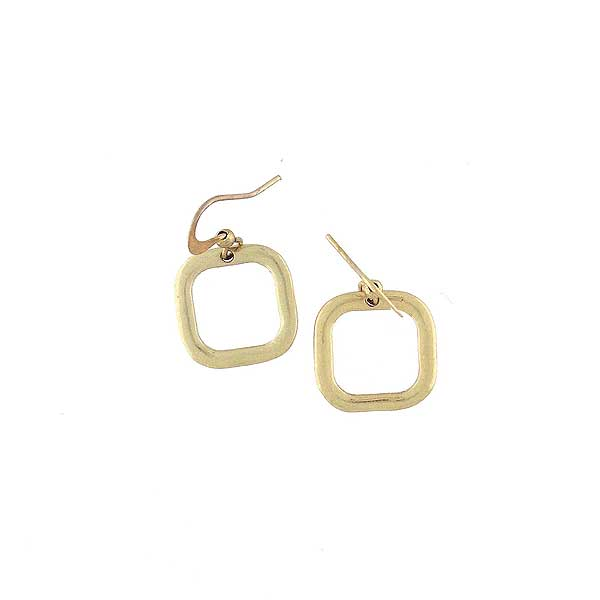 1-001: Silver/gold plated earrings
