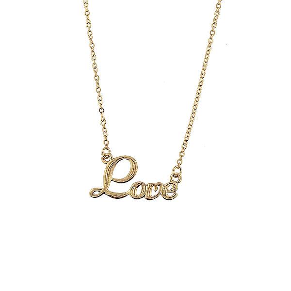 Online shopping for LAVISHY rhodium or 12k gold plated dainty love necklace. A playful gift for yourself or your friends & family. Wholesale available at www.lavishy.com with many unique & fun fashion accessories for gift shops, fashion accessories & clothing boutiques in Canada, USA and worldwide..
