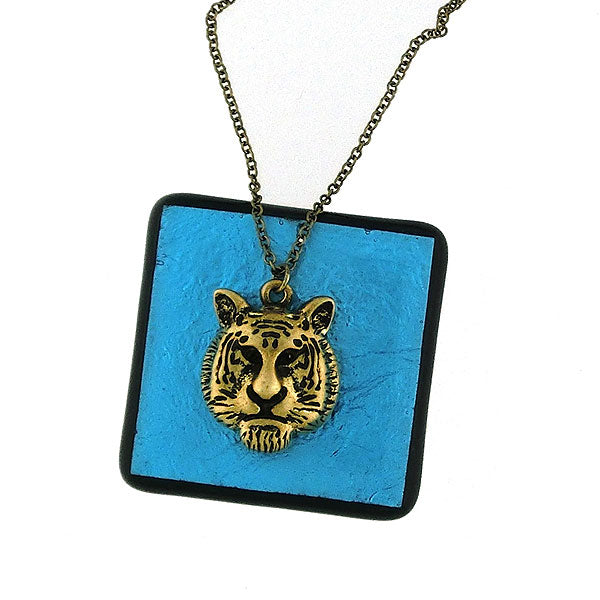 2-005N: Tiger necklace