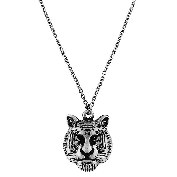 Online shopping for vintage style Tiger necklace from Riya collection by PETA approved vegan brand LAVISHY. Great gift for you or your girlfriend, wife, co-worker, friend & family. More fashion accessories for wholesale at www.lavishy.com for gift shop, clothing & fashion accessories boutique, book store since 2001.