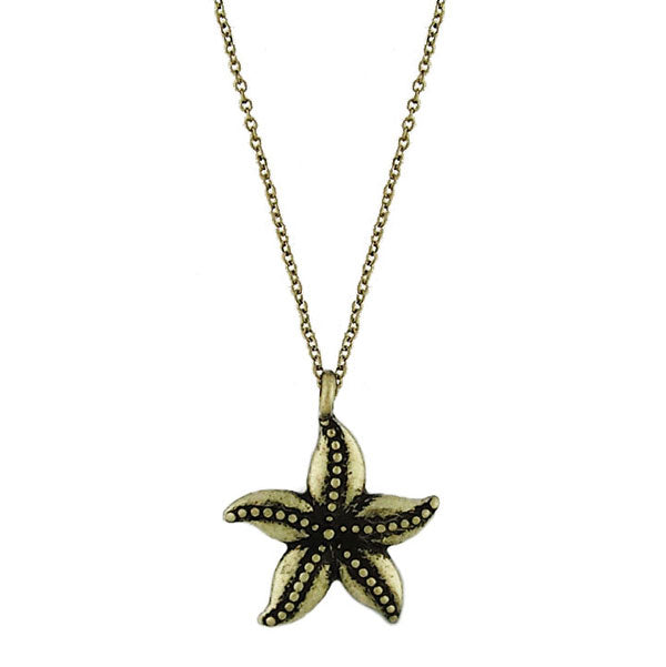 2-014N: starfish necklace