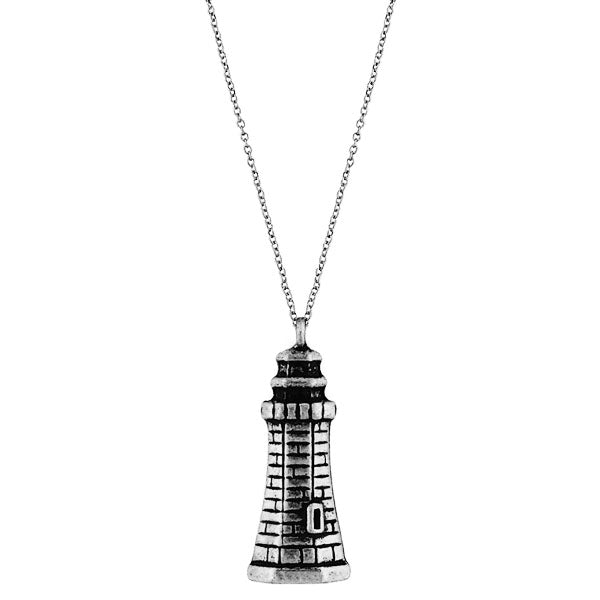 Online shopping for vintage style Light house necklace from Riya collection by PETA approved vegan brand LAVISHY. Great gift for you or your girlfriend, wife, co-worker, friend & family. More fashion accessories for wholesale at www.lavishy.com for gift shop, clothing & fashion accessories boutique, book store since 2001.