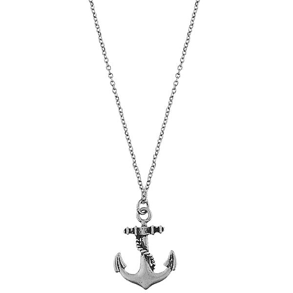 2-026N: Boat anchor necklace