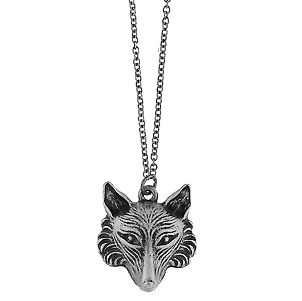 Online shopping for vintage style Fox necklace from Riya collection by PETA approved vegan brand LAVISHY. Great gift for you or your girlfriend, wife, co-worker, friend & family. More fashion accessories for wholesale at www.lavishy.com for gift shop, clothing & fashion accessories boutique, book store since 2001.