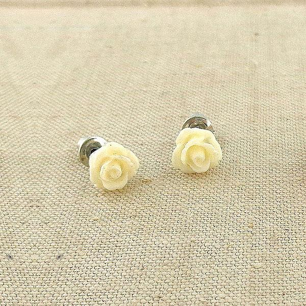 Online shopping for LAVISHY's lovely & affordable silver or 12k gold plated resin Rose flower earrings. A great gift for you or your girlfriend, wife, co-worker, friend & family. Wholesale at www.lavishy.com with many unique & fun fashion accessories.