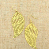 Shop PETA approved vegan brand LAVISHY's unique, beautiful & affordable light weight intricate filigree earrings feature angel wings. A great gift for you or your girlfriend, wife, co-worker, friend & family. Wholesale available at www.lavishy.com with many unique & fun fashion accessories.