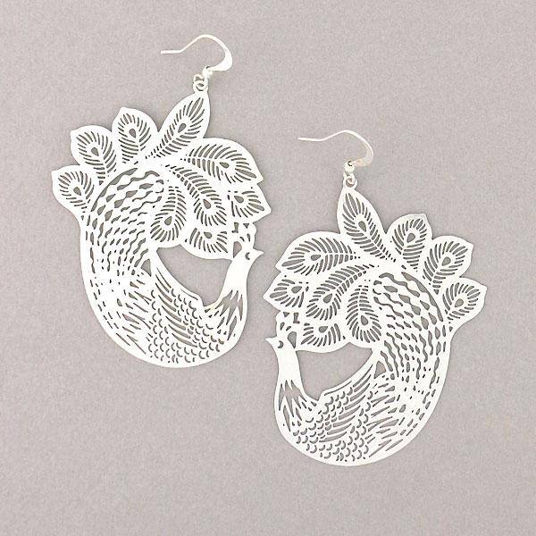 Online shopping for LAVISHY unique, beautiful & affordable light weight intricate filigree earrings. Great for everyday wear, or as gift for family & friends. Wholesale at www.lavishy.com for gift shop, clothing & fashion accessories boutique, book store since 2001.