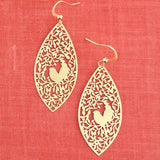 Shop PETA approved vegan brand LAVISHY's unique, beautiful & affordable light weight intricate filigree earrings feature love birds on the tree. A great gift for you or your girlfriend, wife, co-worker, friend & family. Wholesale available at www.lavishy.com with many unique & fun fashion accessories.