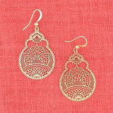 Shop PETA approved vegan brand LAVISHY's unique, beautiful & affordable light weight intricate filigree earrings. A great gift for you or your girlfriend, wife, co-worker, friend & family. Wholesale available at www.lavishy.com with many unique & fun fashion accessories.