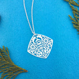 Shop PETA approved vegan brand LAVISHY's unique, beautiful & affordable light weight intricate polska flower filigree necklace. A great gift for you or your girlfriend, wife, co-worker, friend & family. Wholesale available at www.lavishy.com with many unique & fun fashion accessories.