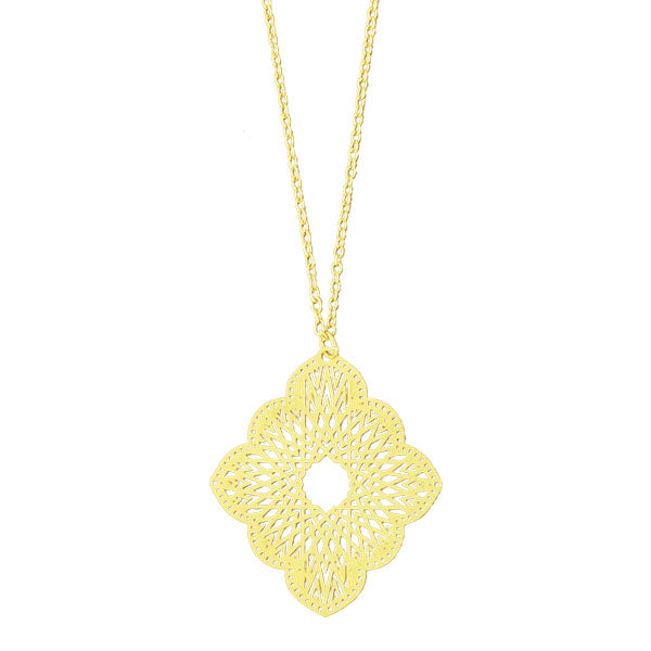 274-184N: Filigree necklace
