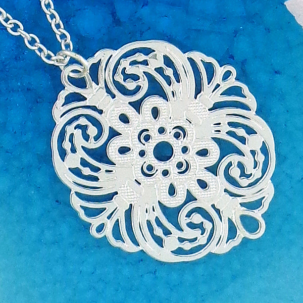 Shop PETA approved vegan brand LAVISHY's unique, beautiful & affordable light weight intricate filigree necklace. A great gift for you or your girlfriend, wife, co-worker, friend & family. Wholesale available at www.lavishy.com with many unique & fun fashion accessories.