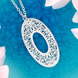 274-204N: Filigree necklace