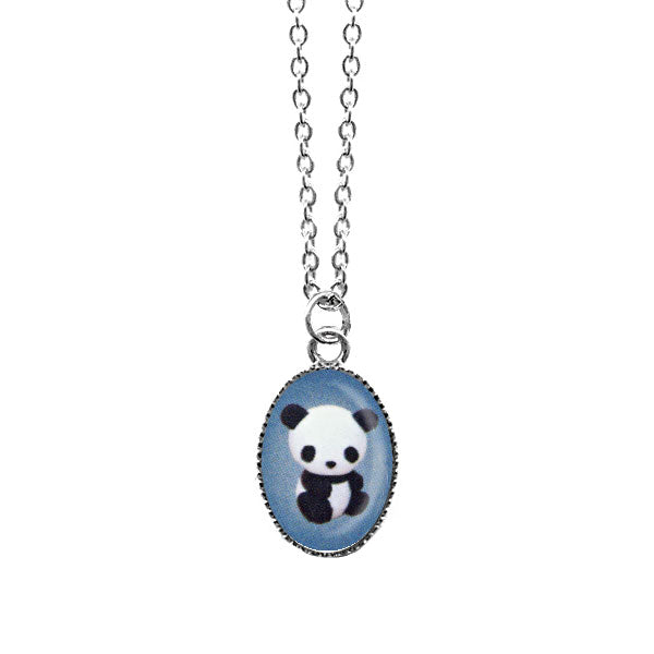 Shop LAVISHY's unique, handmade cute & dainty panda necklace. A quirky & fun gift for you or your girlfriend, wife, co-worker, friend & family. Wholesale available at www.lavishy.com with many unique & fun fashion accessories.