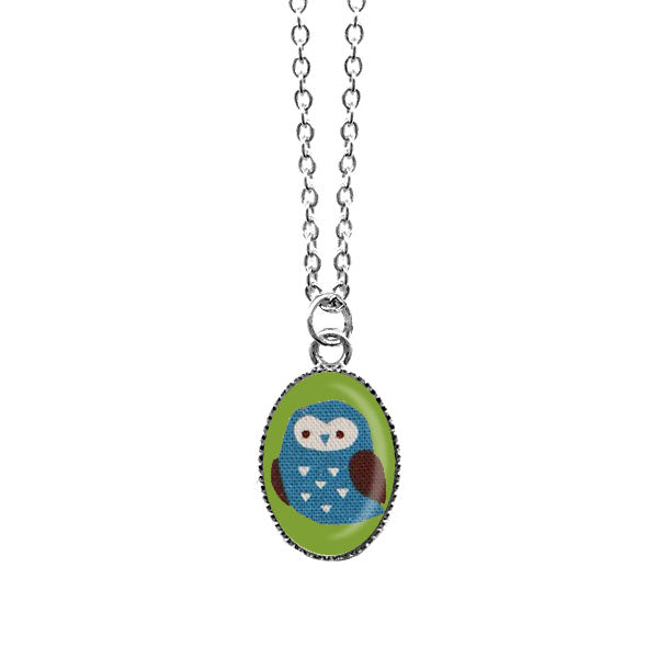 Shop LAVISHY's unique, handmade cute & dainty owl necklace. A quirky & fun gift for you or your girlfriend, wife, co-worker, friend & family. Wholesale available at www.lavishy.com with many unique & fun fashion accessories.