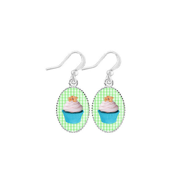Shop LAVISHY's unique, handmade cute & dainty cupcake earrings. A quirky & fun gift for you or your girlfriend, wife, co-worker, friend & family. Wholesale available at www.lavishy.com with many unique & fun fashion accessories.