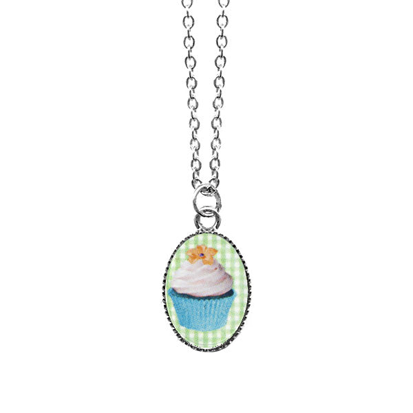 Shop LAVISHY's unique, handmade cute & dainty cupcake necklace. A quirky & fun gift for you or your girlfriend, wife, co-worker, friend & family. Wholesale available at www.lavishy.com with many unique & fun fashion accessories.