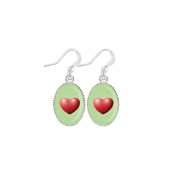 Shop LAVISHY's unique, handmade cute & dainty heart earrings. A quirky & fun gift for you or your girlfriend, wife, co-worker, friend & family. Wholesale available at www.lavishy.com with many unique & fun fashion accessories.