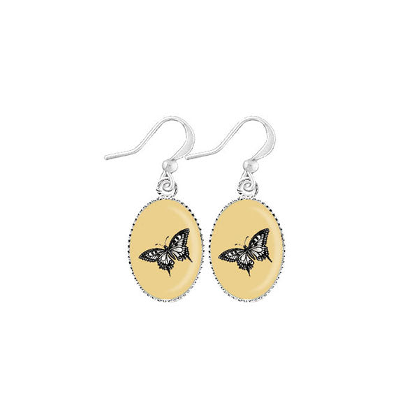 Shop LAVISHY's unique, handmade cute & dainty butterfly earrings. A quirky & fun gift for you or your girlfriend, wife, co-worker, friend & family. Wholesale available at www.lavishy.com with many unique & fun fashion accessories.