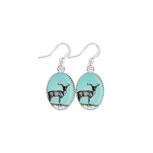 Shop LAVISHY's unique, handmade cute & dainty deer earrings. A quirky & fun gift for you or your girlfriend, wife, co-worker, friend & family. Wholesale available at www.lavishy.com with many unique & fun fashion accessories.