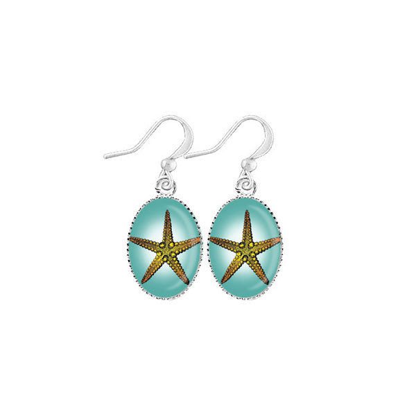 Shop LAVISHY's unique, handmade cute & dainty starfish earrings. A quirky & fun gift for you or your girlfriend, wife, co-worker, friend & family. Wholesale available at www.lavishy.com with many unique & fun fashion accessories.