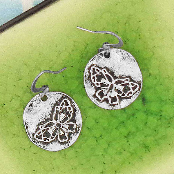 Shop LAVISHY handmade vintage style butterfly & life earrings