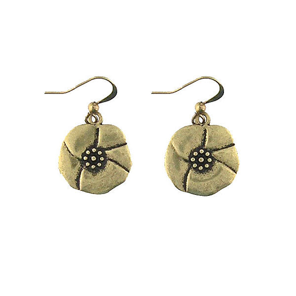 Shop LAVISHY handmade vintage style poppy flower & passion earrings. Wholesale available at www.lavishy.com along with other unique & meaningful fashion jewelry that will make thoughtful gifts.