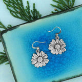 Shop LAVISHY handmade vintage style daisy flower & joy earrings