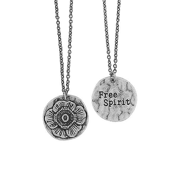 Shop LAVISHY handmade reversible anemone flower & free spirit pendant necklace. Wholesale available at www.lavishy.com