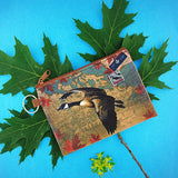 416-009: Goose of Canada unisex vegan coin purse