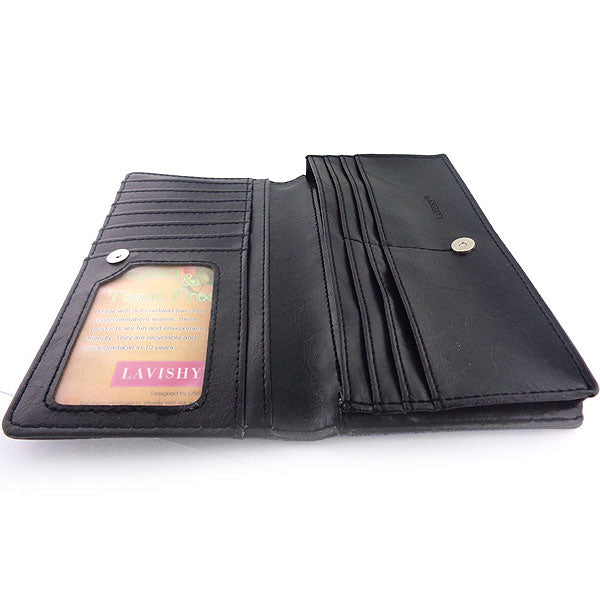 Shop vegan brand LAVISHY's horse applique vegan/faux leather large wallet. Wholesale available at http://www.lavishy.com/lookbook/lavishy-adora-collection-look-book.htm