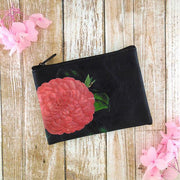 Online shopping for vegan brand LAVISHY's charming vintage style camelia flower print vegan coin purse. Great for everyday use, fun gift for family & friends. Wholesale at www.lavishy.com for gift shop, clothing & fashion accessories boutique, book store in Canada, USA & worldwide since 2001.