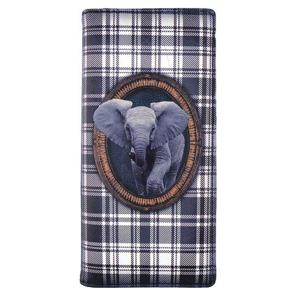 Shop PETA approved vegan brand LAVISHY's fun & playful vegan large wallet with adorable elephant print. It's Eco-friendly, ethically made, cruelty free. A great gift for you or your girlfriend, wife, co-worker, friend & family. Wholesale available at www.lavishy.com with many unique & fun fashion accessories.