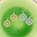 Online shopping for vegan brand LAVISHY's unique, beautiful & affordable sterling silver or 12k gold plated Moroccan pattern filigree earrings. Great for everyday wear or gift for family and friends. Wholesale available at www.lavishy.com for gift shops, fashion accessories & clothing boutiques in Canada, USA & worldwide since 2001.