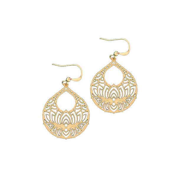 Online shopping for vegan brand LAVISHY's unique, beautiful & affordable 925 sterling silver or 12k gold plated filigree earrings. A great gift for you or your girlfriend, wife, co-worker, friend & family. Wholesale available at www.lavishy.com with many unique & fun fashion accessories.