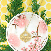 Shop PETA approved vegan brand LAVISHY's unique, beautiful & affordable 925 sterling silver or 12k gold plated filigree pendant necklace. A great gift for you or your girlfriend, wife, co-worker, friend & family. Wholesale available at www.lavishy.com with many unique & fun fashion accessories.