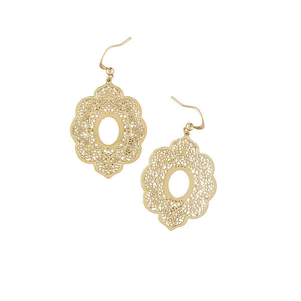 Shop vegan brand LAVISHY's unique, beautiful & affordable 925 sterling silver or 12k gold plated filigree pendant earrings. A great gift for you or your girlfriend, wife, co-worker, friend & family. Wholesale available at www.lavishy.com with many unique & fun fashion accessories.