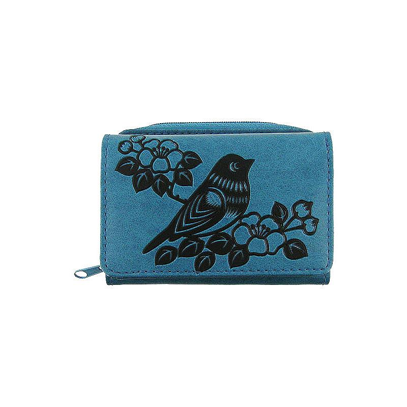 Shop LAVISHY embossed bird & flower vegan/faux leather small/trifold wallet. This product is also available for wholesale at www.lavishy.com with other unique & fun vegan bags, wallets, coin purses, travel accessories, fashion jewelry & gifts designed by vegan brand LAVISHY.