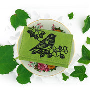 Shop vegan brand LAVISHY's beautiful vegan small/trifold wallet with charming bird & flower emboss. It's Eco-friendly, ethically made, cruelty free. A great gift for you or your friends & family. Wholesale available at www.lavishy.com with many unique & fun fashion accessories.