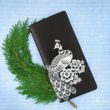 Online shopping for vegan brand LAVISHY's Eco-friendly embossed peacock vegan large wallet for women. It's great for everyday use & a gift for your family & friends. Wholesale at www.lavishy.com for gift shops, fashion accessories and clothing boutiques, book stores in Canada, USA & worldwide since 2001.