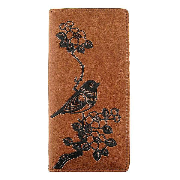 Online shopping for vegan brand LAVISHY's Eco-friendly embossed flower & bird vegan large wallet for women. It's great for everyday use & a gift for your family & friends. Wholesale at www.lavishy.com for gift shops, fashion accessories and clothing boutiques, book stores in Canada, USA & worldwide since 2001.