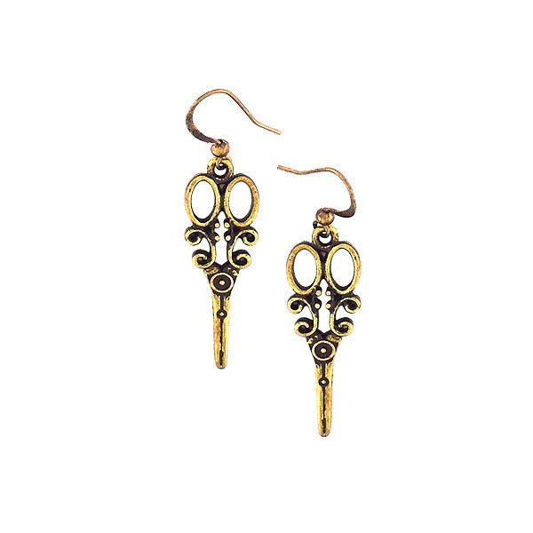 Online shopping for LAVISHY's unique, beautiful & affordable retro style scissors  earrings. A great gift for you or your girlfriend, wife, co-worker, friend & family. Wholesale available at www.lavishy.com with many unique & fun fashion accessories.