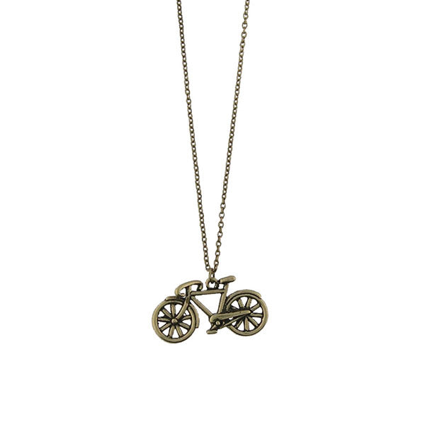 Shop LAVISHY's unique, beautiful & affordable retro style bicycle necklace. A great gift for you or your girlfriend, wife, co-worker, friend & family. Wholesale available at www.lavishy.com with many unique & fun fashion accessories.