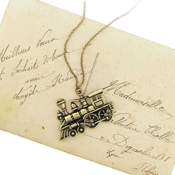 Shop LAVISHY's unique, beautiful & affordable retro style train necklace. A great gift for you or your girlfriend, wife, co-worker, friend & family. Wholesale available at www.lavishy.com with many unique & fun fashion accessories.