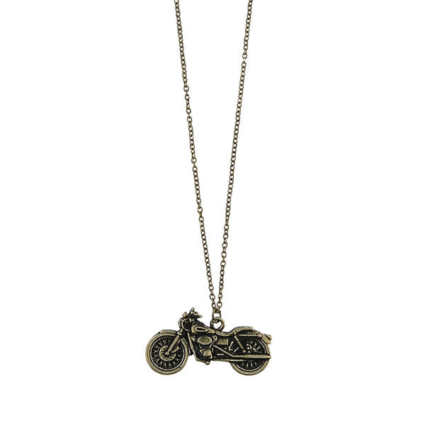 Shop LAVISHY's unique, beautiful & affordable retro style motorcycle necklace. A great gift for you or your girlfriend, wife, co-worker, friend & family. Wholesale available at www.lavishy.com with many unique & fun fashion accessories.