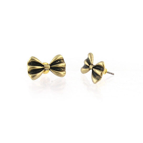 Shop LAVISHY's unique, beautiful & affordable retro style bow tie stud earrings. A great gift for you or your girlfriend, wife, co-worker, friend & family. Wholesale available at www.lavishy.com with many unique & fun fashion accessories.