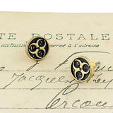 Shop LAVISHY's unique, beautiful & affordable retro style bio hazard stud earrings. A great gift for you or your girlfriend, wife, co-worker, friend & family. Wholesale available at www.lavishy.com with many unique & fun fashion accessories.